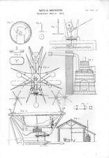 Stampa antica LAVORAZIONE della SETA macchina per TRATTURA 1848 Old print