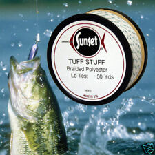 Tuff Stuff Braided Poly Fishing Line 50 Yd, 60 # Test