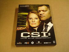3-DISC DVD BOX / CSI:CRIME SCENE INVESTIGATION -SEIZOEN 9- AFLEVERING 9.13 -9.24