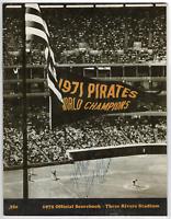 Roberto Clemente signed autographed Pittsburgh Pirates scorebook! RARE! PSA LOA!