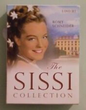 romy schneider THE SISSI COLLECTION  DVD  1 disc is missing !