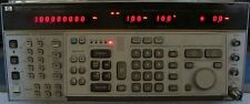 HP AGILENT 8663A SYNTHESIZED SIGNAL GENERATOR W/ OPTS 002 & H30! NIST CALIBRATED