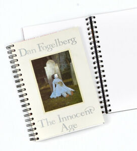 Vintage LP Album Cover Journal, Dan Fogelberg - Innocent Age 1981, Blank pages