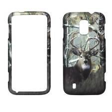 For ZTE Majesty Z796C Deer Pinetree Camo Plane Case Hard Phone Cover