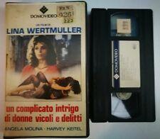VHS UN COMPLICATO INTRIGO DI DONNE VICOLI E DELITTI di Lina Wertmüller [DOMOVID]