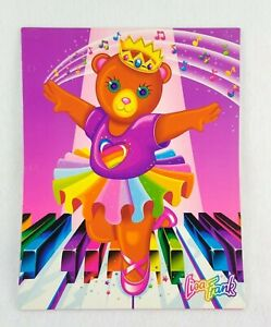 Lisa frank folder Ballet teddy Ballerina Dance Portfolio vintage fantastic world