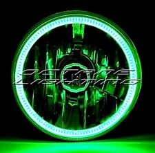 5-3/4 Motorcycle Green COB SMD LED Halo Halogen Light Bulb Headlight For: Harley