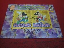 MALAWI - 2008 MICKEY MOUSE ANNIVERSARY MINISHEET UNMOUNTED USED MINIATURE SHEET