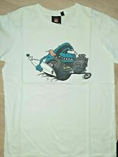 Superbe T-shirt Blanc QUICKSILVER MC - 12 ans - Très bon état