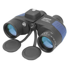 7X50mm Military Binoculars BAK4 HD FMC Prism Waterproof With Rangefinder Compass