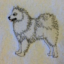 Samoyed, Hand Towel, Embroidered, Custom, Personalized, Dog