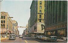 View on Nicollet Avenue in Minneapolis MN Postcard