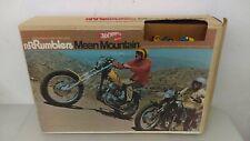 1970 Mattel RRRumblers Mean Mountain Race Set With Unused Mountain Box & Bikes