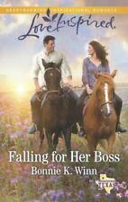 Rosewood, Texas Ser.: Falling for Her Boss by Bonnie K. Winn (2015, Mass Market)