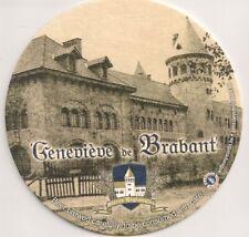 """""""Geneviève de Brabant"""" - Sous-bock / bierviltje / Bierdeckel"""