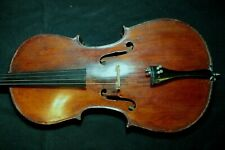 antique 1830 French cello by Rambaux 4/4
