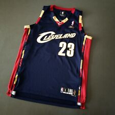 100% Authentic Lebron James Reebok Cavaliers Jersey Size L Mens 48 XL