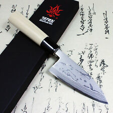 Kanetsune Japanese Damascus Kasumi Deba Sushi Chef Knife 120mm KC-513 Japan