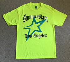 NEW! 2014 WWE SUMMERSLAM Los Angeles I WAS THERE T-Shirt Size L CENA vs. LESNAR