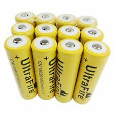 18650 Batería 9800mAh 3.7V Li-ion recargable linterna antorcha drenaje de bajo para Reino Unido
