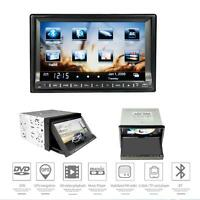 "Double 2 Din 7"" Car DVD GPS Player Touch Screen In Dash Stereo Radio+Camera #X"