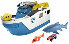Matchbox Shark Ship Rescue Kids Toy Mega Water Boat Playset (2-Day Ship)