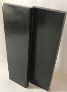 2 Buffalo Horn Knife Scales Lot 6x1.75x3/8 Knife Making Handles Furniture Inlays