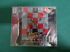 3DO Real -- Super Street Fighter 2X -- very good!! JAPAN. Panasonic. New!! 14622
