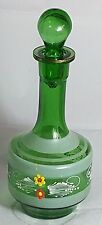 BELLISSIMO Verde Decorativa Vetro Decanter (altezza - 33 cm)