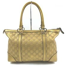 Gucci Tote Bag  Gold Leather 1404641