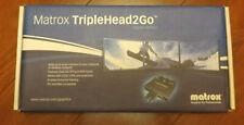 Matrox TripleHead2Go Digital Edition Dual-link DVI Used Great Condition!