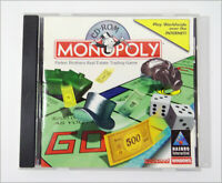 Monopoly CD-ROM PC Complete Jewel Care with Manual Windows Version 95/98