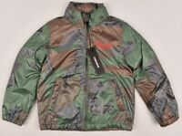 DIESEL Boys' Kids Camo and Mohawk Print Lightweight Jacket, size 4 Years