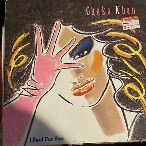 "Vinyl Record 12"" Chaka Khan I feel for You LP 1984"