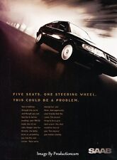1998 SAAB 900SE Coupe - Original Advertisement Print Art Car Ad J220