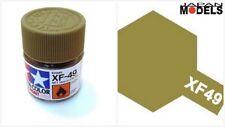 Acrylic Paint - Colore Acrilico 10ml XF-49 XF49 KHAKI 81749 Tamiya Nuovo