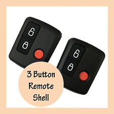 2 x Remote 3 Button Car Keyless Fob Keypad for Ford BA BF Falcon Ute Territory
