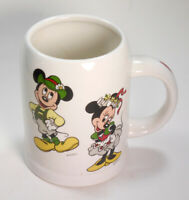 VTG Disney Beer Stein Mug Cup Mickey Minnie Mouse Octoberfest Reutter W Germany