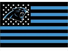 Carolina Panthers 3x5 Ft American Flag Football New In Packaging