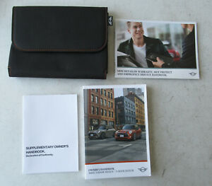 Genuine Used MINI Owners Handbook Case / Wallet / Book Pack for F56 & F55
