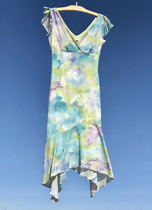 Vintage 90\u2019s Byer Too burgundy floral dress size small