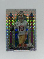 2020 PANINI MOSAIC JIMMY GAROPPOLO STAINED GLASS PRIZM SSP CASE HIT #SG9 49ERS