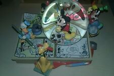 Disney Mickey Donald Goofy Minnie Mouse  COMICS Musical Lite Up SnowGlobe