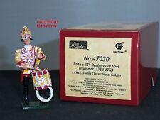 Britains 47030 redcoats British 35A Reggimento di afta batterista metallo giocattolo soldato