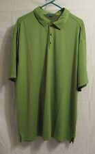 Port Authority Polo Golf Shirt Polyester Green 3XL