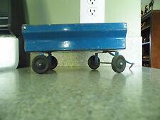 Vintage Blue Toy Grain wagon