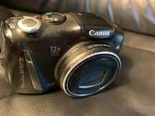 Canon PowerShot SX150 IS 14.1MP Digital Camera - Black 12x Zoom