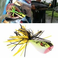 Frog Snakehead Fishing Lures 9cm 9.2g Hard Bass Bait Frog Lure Fishing Tackle