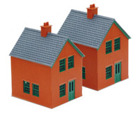 Peco LK-14 OO Gauge Station House Kit (Brick)