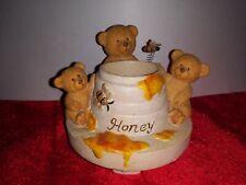 Home Interiors Honey Bears Candle Shade